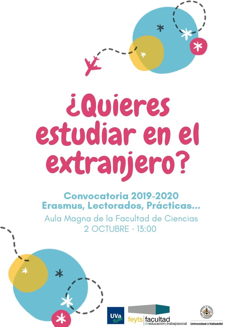 Calendario Belen 2020.Charla Para Estudiantes Erasmus 2019 2020 Facultad De